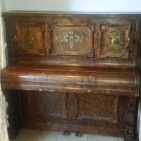 Antique Eungblut & Eungblut London Upright Piano