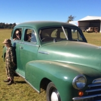 1948 Fleet Master Chevrolet - Original Finishes