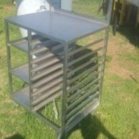 Stainless Steel trolley at reduced price