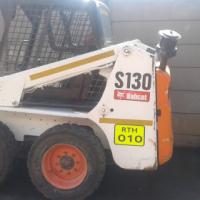 2 x Bobcat S130 Skidsteers for sale