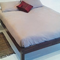 double Divan bed available at WOODNBEDS R 2900 excluding mattress,contact 011 794 4376