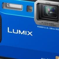 TOUGH Digital Camera Panasonic Lumix FT5 Blue