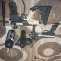 2 paintball guns tippmann cronus and SW1