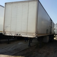 2012 Afrit, Tri- Axle Closed Body Trailer.