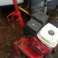 Plate compactor with 9hp Honda engine