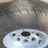 new tyres on 10 inch trailer rims