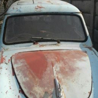 Hierdie 1962 Austin A35 is te koop