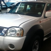 Nissan d/cab 4x4 with canopy 2008
