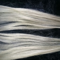 45 cm Platinum Blonde Hair extentions