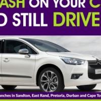 Get cash for your Citroen! Raise cash on your Citroen and still drive it!
