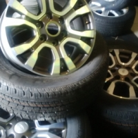 "Ford ranger mags 18"" with tyres"