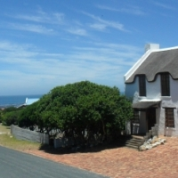 Sea view corner stand(Kleinbaai/Van Dyksbaai) in upper class build-up area for sale