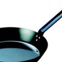 Black Steel Frying Pan 320mm_PBF2320_Catering Equipment Arctica