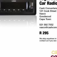 Logik RSH-249327 Car Radio