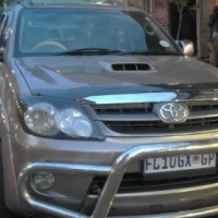 Toyota Fortuna 4x4 3.0 Model 2009 Colour Gold Factory A/C & CD/Radio Player