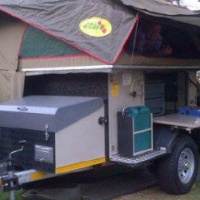 Echo 4, 4x4 trailer with extras in excellent condition