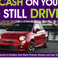 Get cash now! Raise cash on your Fiat and still drive it!