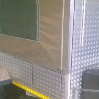 lebusha camping trailer fore sale for 35000 or to swap for 1 ton bakie