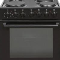 New Kelvinator 2 Piece 60cm Black Oven and Hob Set Model: Kbu60bs