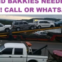 Cars and bakkies wanted for Cash or EFT