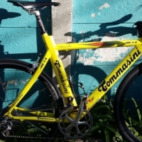 Triathlon Tri Bike 10 speed/Campagnolo Wheelset and Parts/Very Good condition/Best Offer