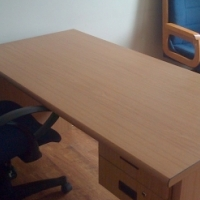 Large Office Desk with optional chairs for sale