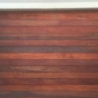 Garage Door Wood Meranti single sectional
