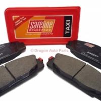Safeline Toyota Quantum Brake Pads D3522T