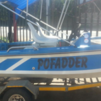 Bass Boat with Trailer