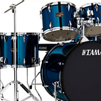 TAMA IMPERIAL STAR  6-PIECE DRUM SET WITH MEINL CYMBALS