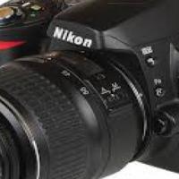 Nikon D40 DSLR camera