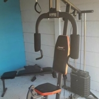 Trojan 300 home gym with adjustable bench