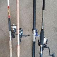 Used, 4 x stokke met katrolle te koop for sale  South Africa
