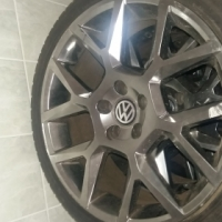 "17"" Gti 35 edition rims with tyres"
