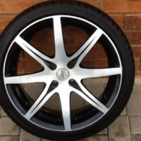 "17"" Mag and Tyres For Sale"