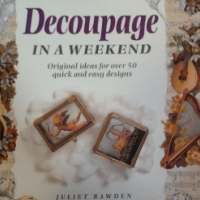 Book about Decoupage