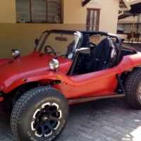 RED BEACH BUGGY TO SWOP FOR 2X QUADS & TRAILER