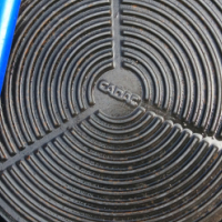 Cadac cast iron  gridle
