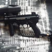 Tippmann A5 Cyclone Feed - Paintball Marker / Gun