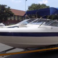 20Ft, Breeze with 200hp Yamaha Vmax