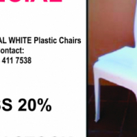 INDUSTRIAL PLASTIC CHAIRS