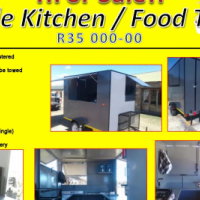 Vending Trailer / Fast Food / Mobile Kitchen For Sale