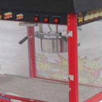 Popcorn machine anid cart.