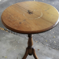 Very old antique wine tasting table for sale