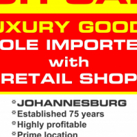 BUSINESS FOR SALE: EXCLUSIVE LUXURY GOODS