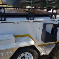 Jurgens XT75 offroad trailer for sale.