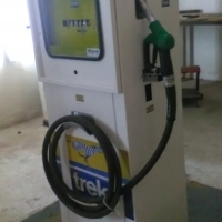 Trek petrol pump. Fully restored R12k onco