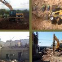 Rubble removal and Demolishers