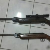2×Pellet guns