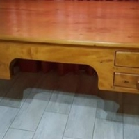 Beautiful solid wood antique desk for sale.